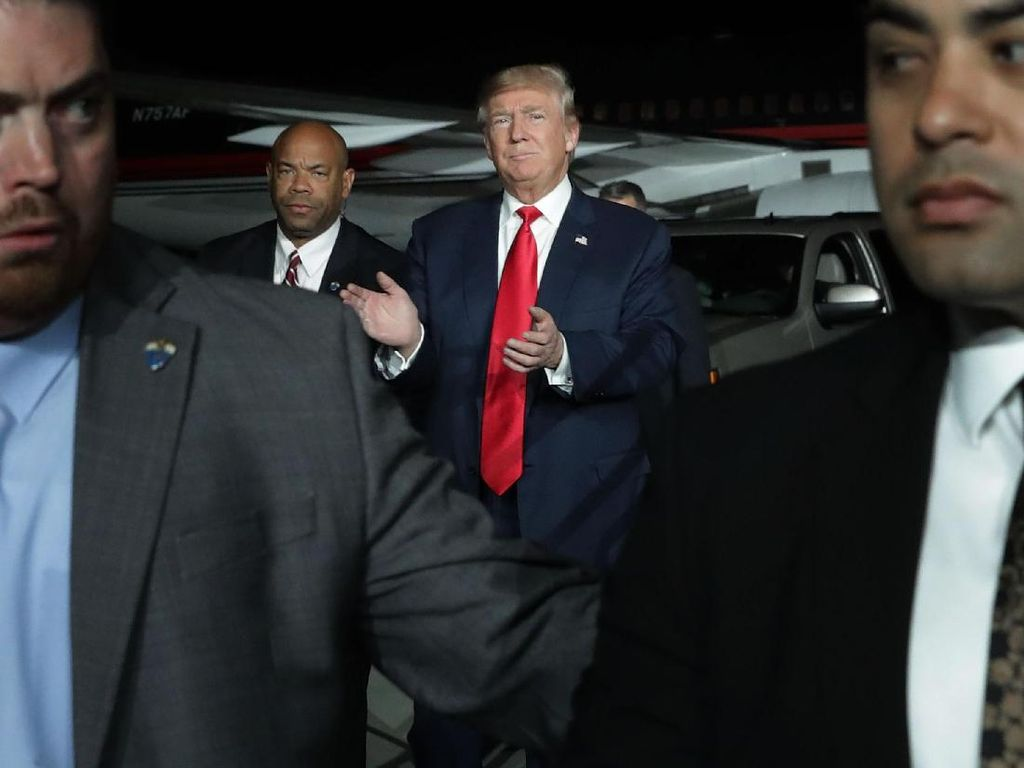 Ancaman Trump: Pemerintahan Tutup Jika Tembok Meksiko Batal Dibangun