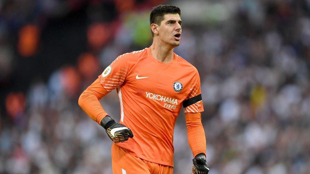 Courtois Sindir Suporter Spurs yang Kurang Berisik di Wembley