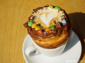XCoffee: Menikmati Kopi Tak Biasa dalam Secangkir Croissant!