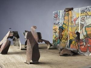 Karya Patung Menembus Batas Teguh Ostenrik Dibangun di RPTRA Kalijodo
