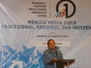 Wens Manggut Terpilih Jadi Ketua Umum AMSI Pertama