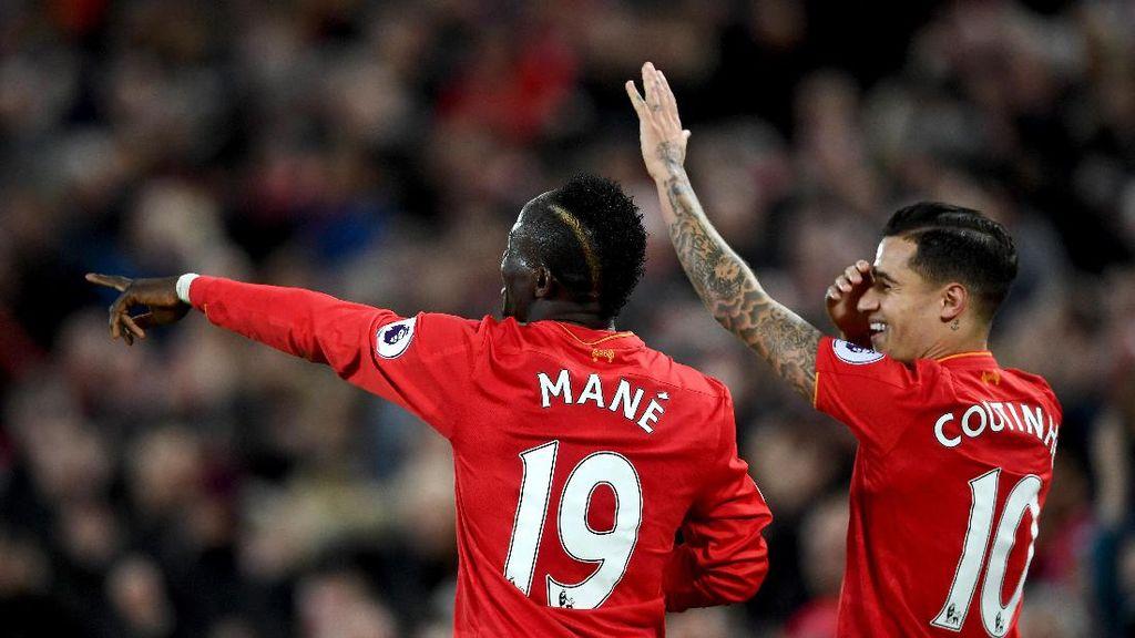 Punya Mane, Liverpool Disarankan Jual Coutinho