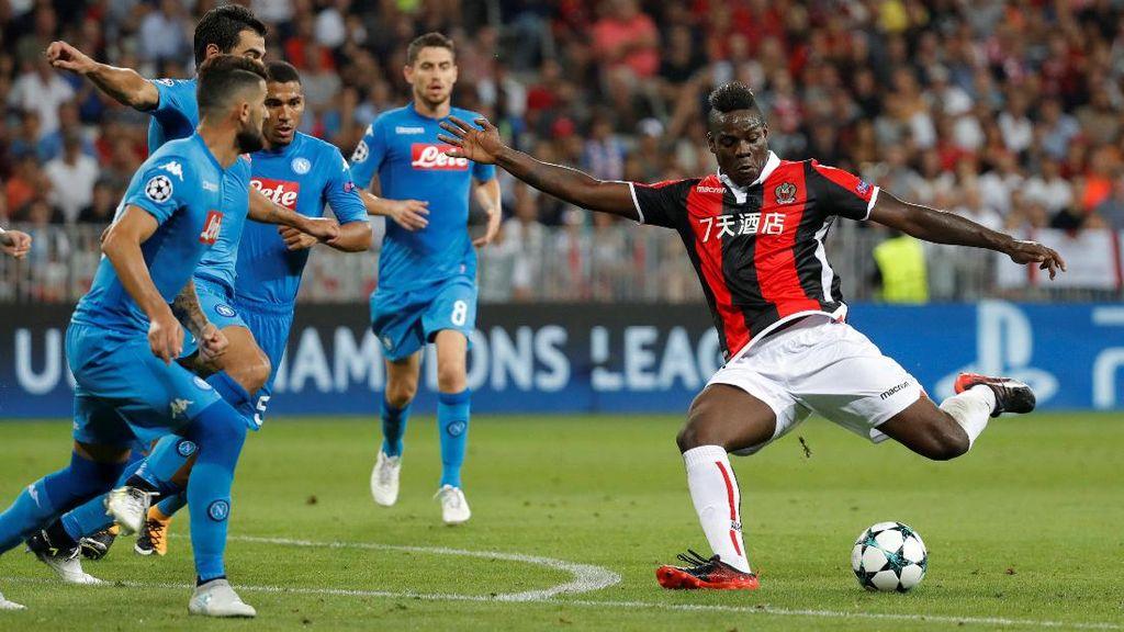 Balotelli Berdebat dengan Ofisial, Nice Kalah, Penampilannya Dikritik