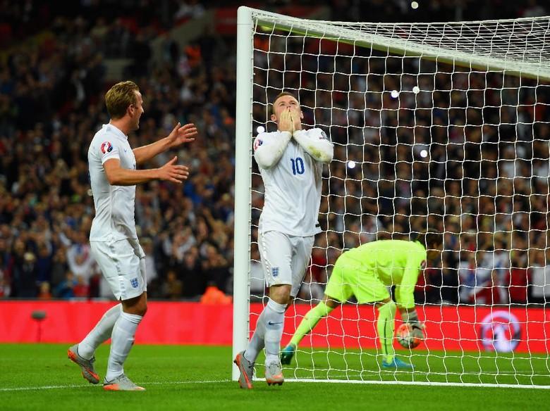 Rooney Legenda Timnas Inggris