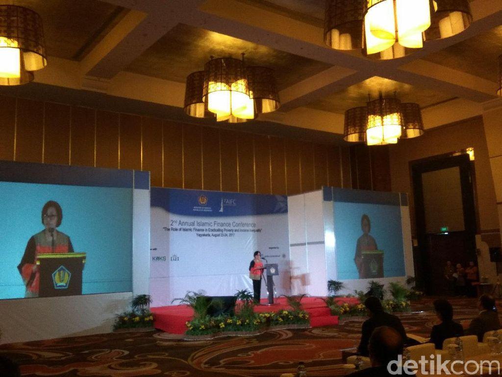 Ide Sri Mulyani Agar Keuangan Syariah Bantu Kurangi Kemiskinan