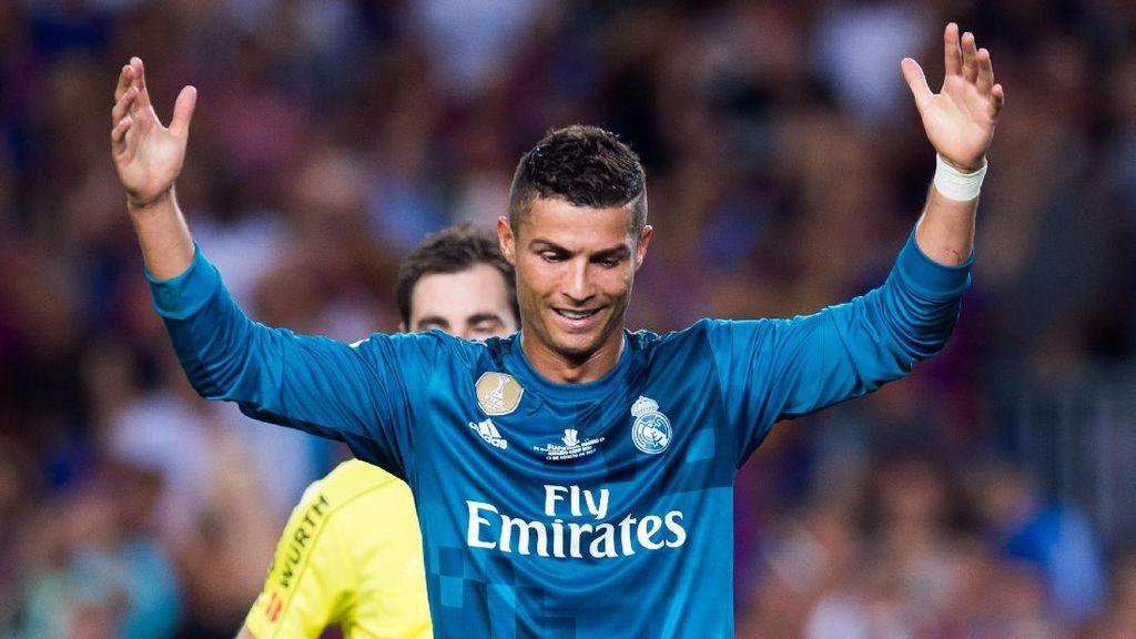 Banding Madrid atas Hukuman Ronaldo Kembali Ditolak