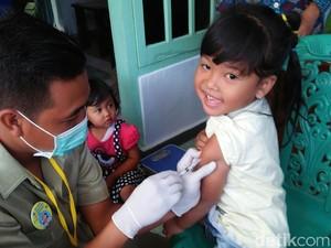 Dinkes Blitar: 8 Balita Dirawat di Rumah Sakit Pasca Imunisasi MR