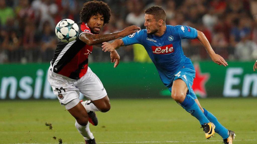 Depak Nice, Napoli Lolos ke Fase Grup Liga Champions