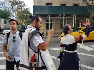 Antrean Panjang Jelang Peluncuran Galaxy Note 8 di New York