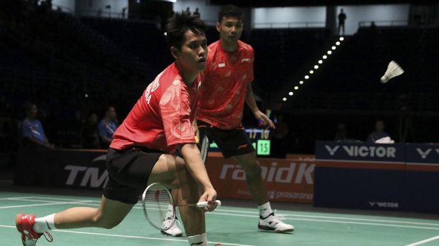 Berry Angriawan/Hardianto harus berusaha lebih keras untuk bisa diandalkan di turnamen yang levelnya lebih tinggi.