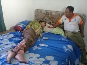 Anak Pembunuh Bapak Kandung Dibawa ke Rumah Sakit Jiwa