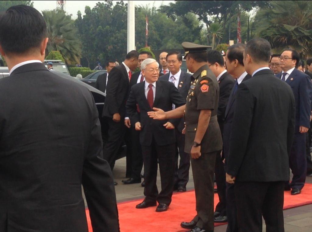 Sekjen Partai Komunis Vietnam Kunjungi TMP Kalibata