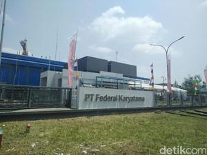 Pabrik Pelumas Buatan Anak Bangsa Berdiri di Banten