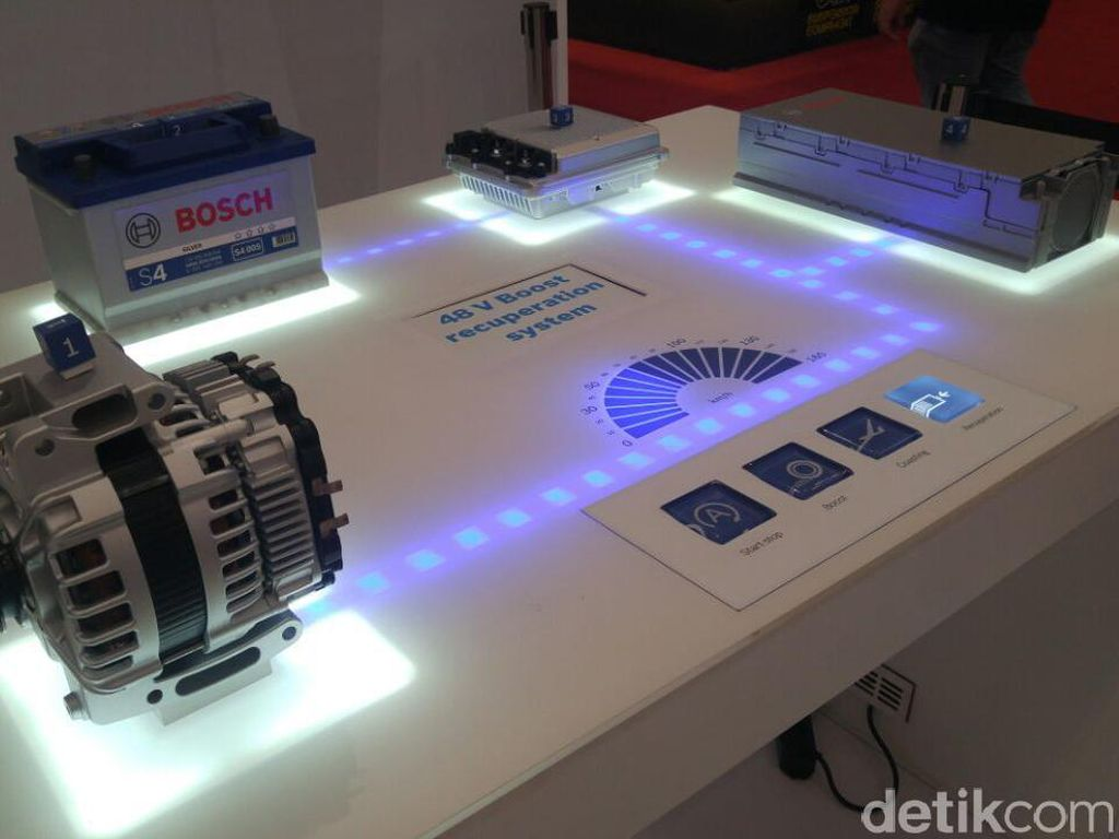 Bosch Sediakan Part Mobil Hybrid untuk Pabrikan Otomotif
