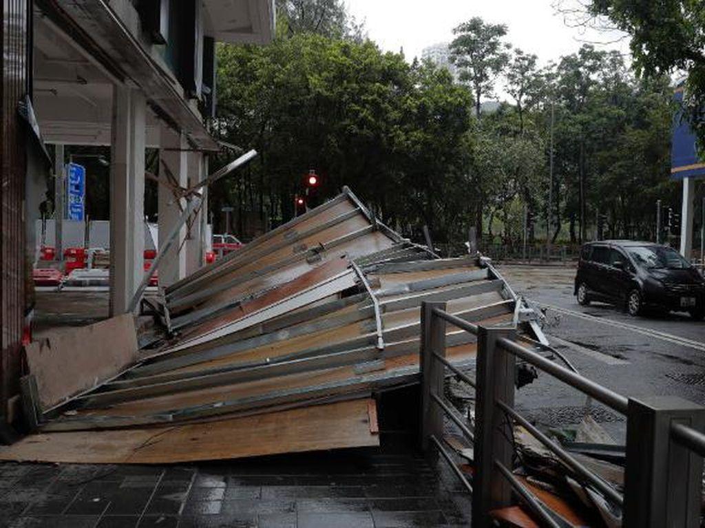 12 Orang Tewas Akibat Topan Hato di Hong Kong dan Macau