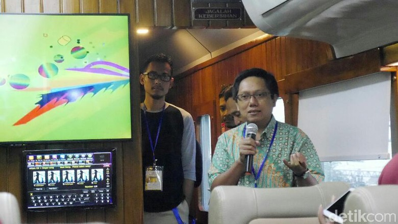 Direktur Utama PT Kereta Api Pariwisata Totok Suryono (Kurnia/detikTravel)