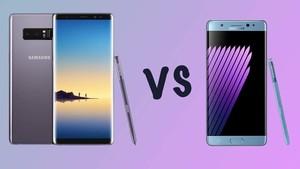 Daftar Perbedaan Galaxy Note 7 vs Galaxy Note 8