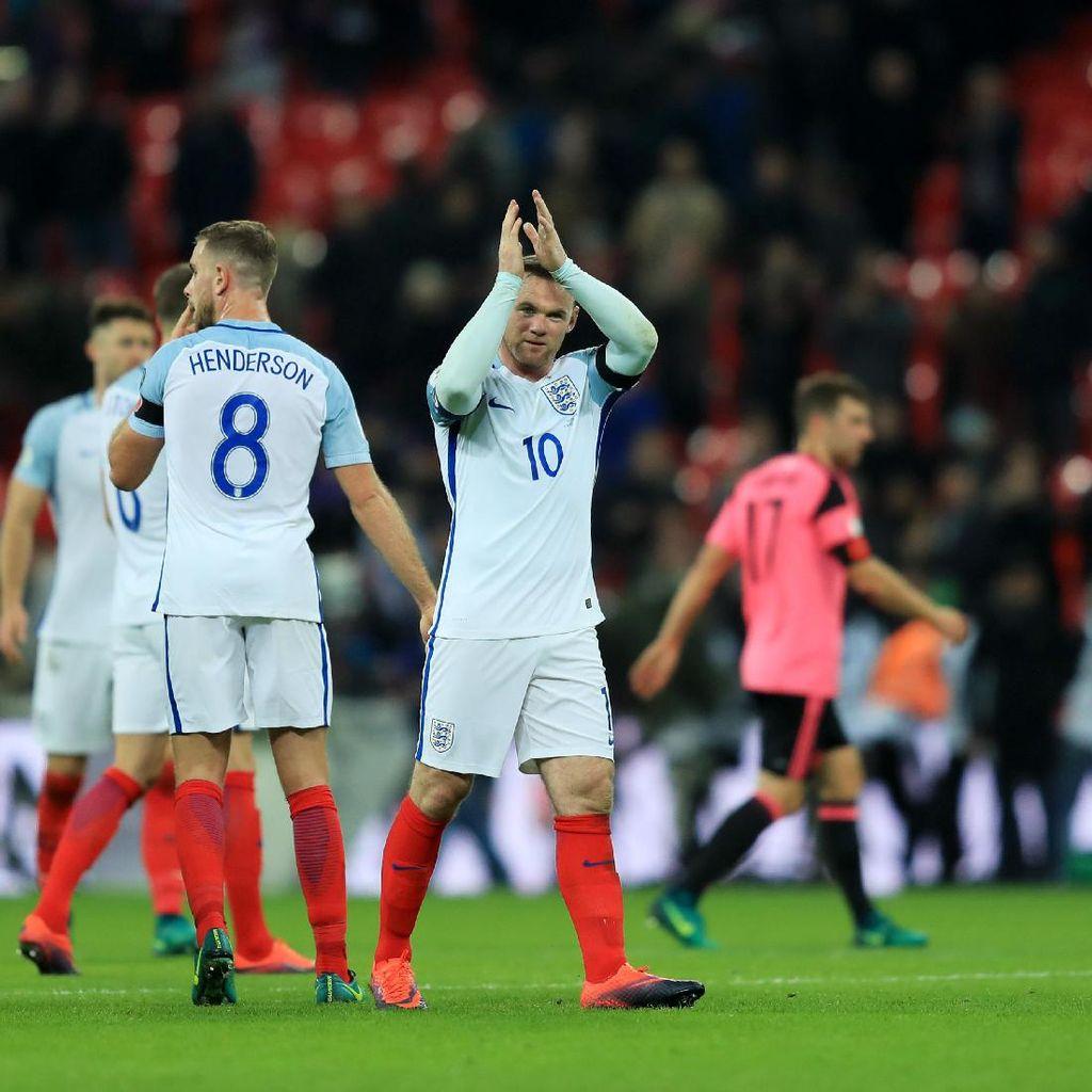 Momen-Momen Monumental Rooney di Timnas Inggris