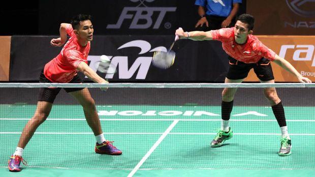 Fajar Alfian/Mohammad Rian Ardianto merupakan pasangan Indonesia dengan tertinggi kedua setelah Marcus Fernaldi/Kevin Sanjaya.