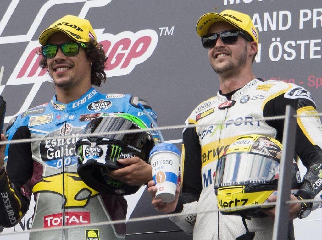 Luthi Setim dengan Morbidelli di MotoGP 2018