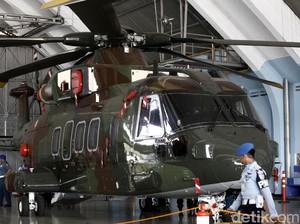 KPK Cek Fisik Heli Agusta Westland 101 di Halim