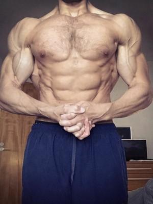 Potret Visualisasi Persentase Lemak Tubuh Pada Pria