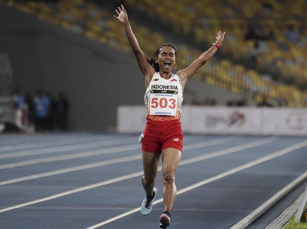 Emas Keenam Triyaningsih Nomor 10 Ribu Meter di SEA Games