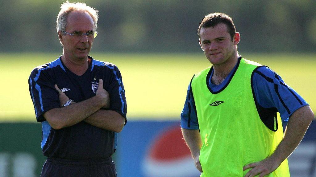 Andai Masih Jadi Manajer Inggris, Eriksson Akan Bujuk Rooney Tunda Pensiun