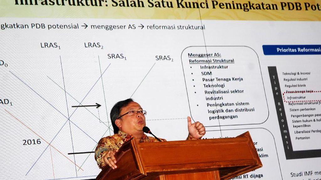 Kepala Bappenas Bambang Brodjonegoro Ngajar di ITB