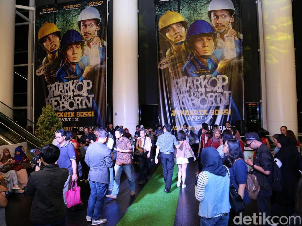 Gelar Gala Premiere Warkop DKI Reborn: Jangkrik Boss Part 2 Padat Penonton