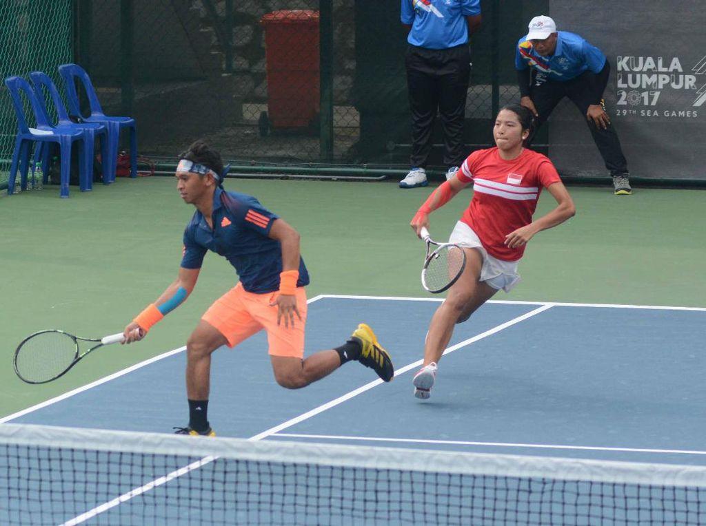Asian Games Bentrok AS Terbuka, Timnas Tenis Diuntungkan