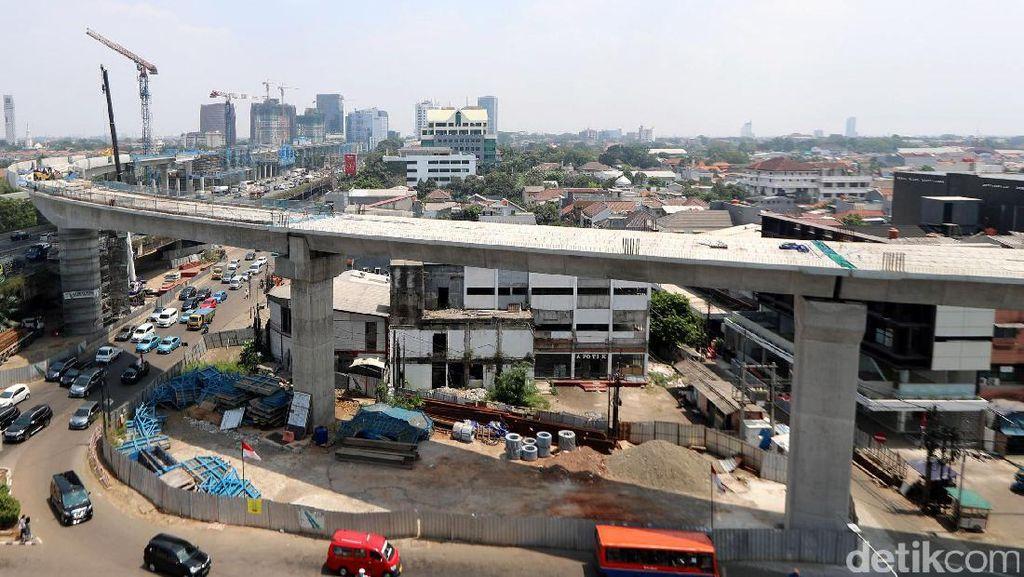 Foto: Wajah Proyek MRT Jakarta yang Terus Maju