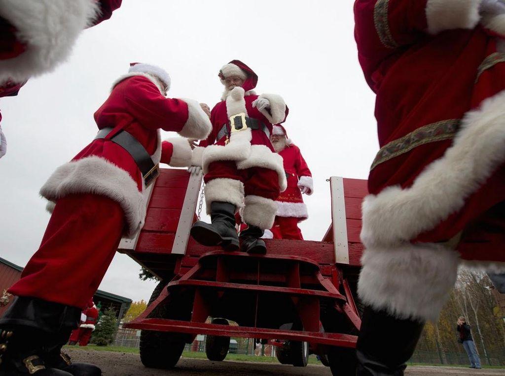 Natal Tiap Hari, Ini Sekolah Khusus Sinterklas