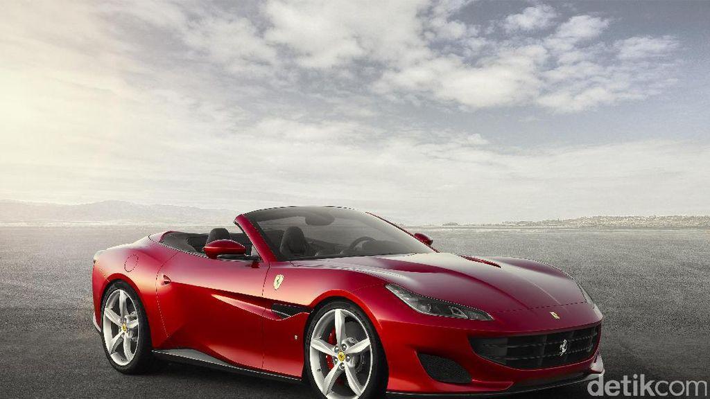 Kerennya Tampang Ferrari Portofino Tanpa Atap