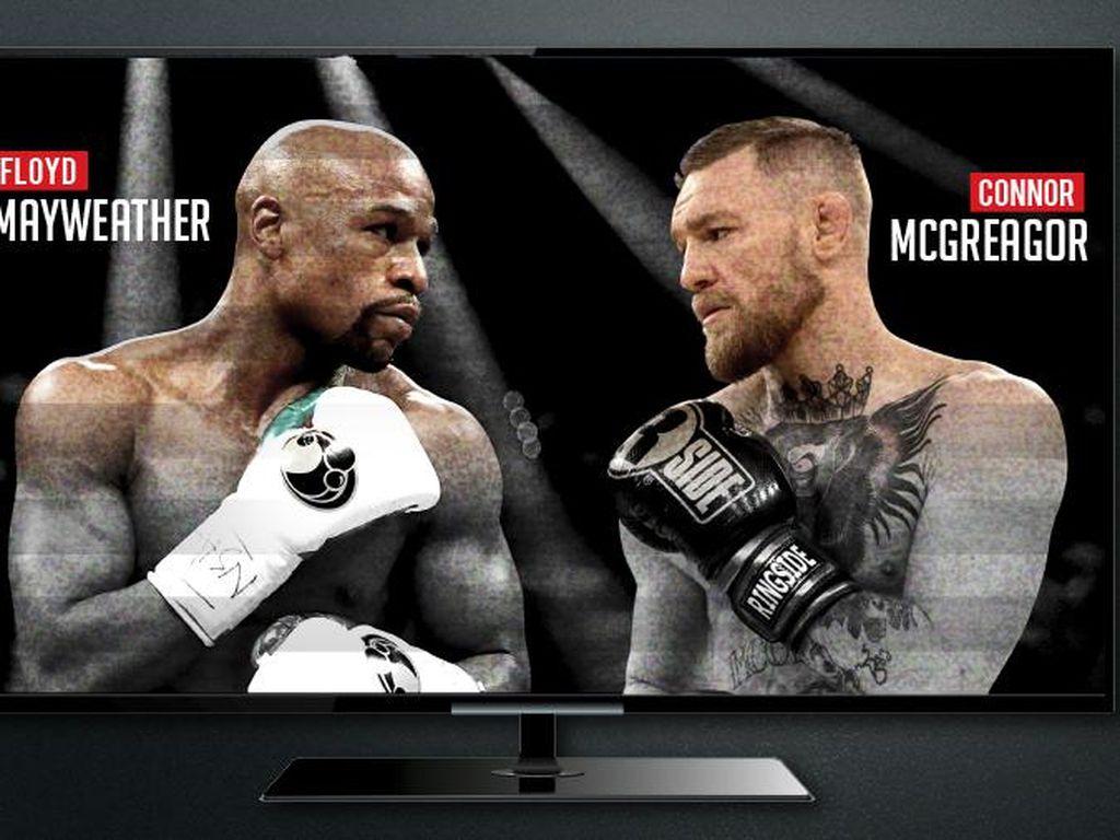 Pusaran Uang dalam Duel Mayweather vs McGregor