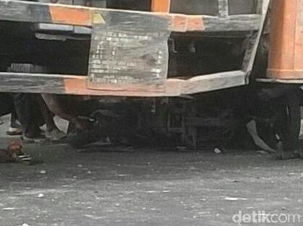 Cerita Saksi Lihat Korban Bergelimpangan Usai Ditabrak Truk Blong