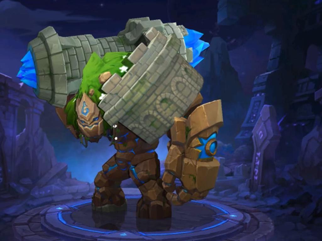 Mengintip Grock, Hero Baru Mobile Legends