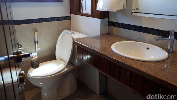 Toilet yang higienis (Kurnia/detikTravel)