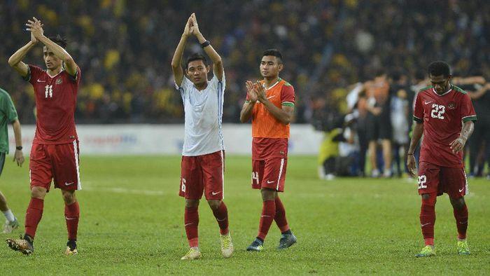 Evan Dimas saat membela tim nasional Indonesia di SEA Games Kuala Lumpur. (Foto: Antara Foto/Wahyu Putro A)