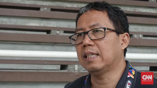 Wakil Ketua Umum PSSI Joko Driyono memastikan kesepakatan dengan Luis Milla. (