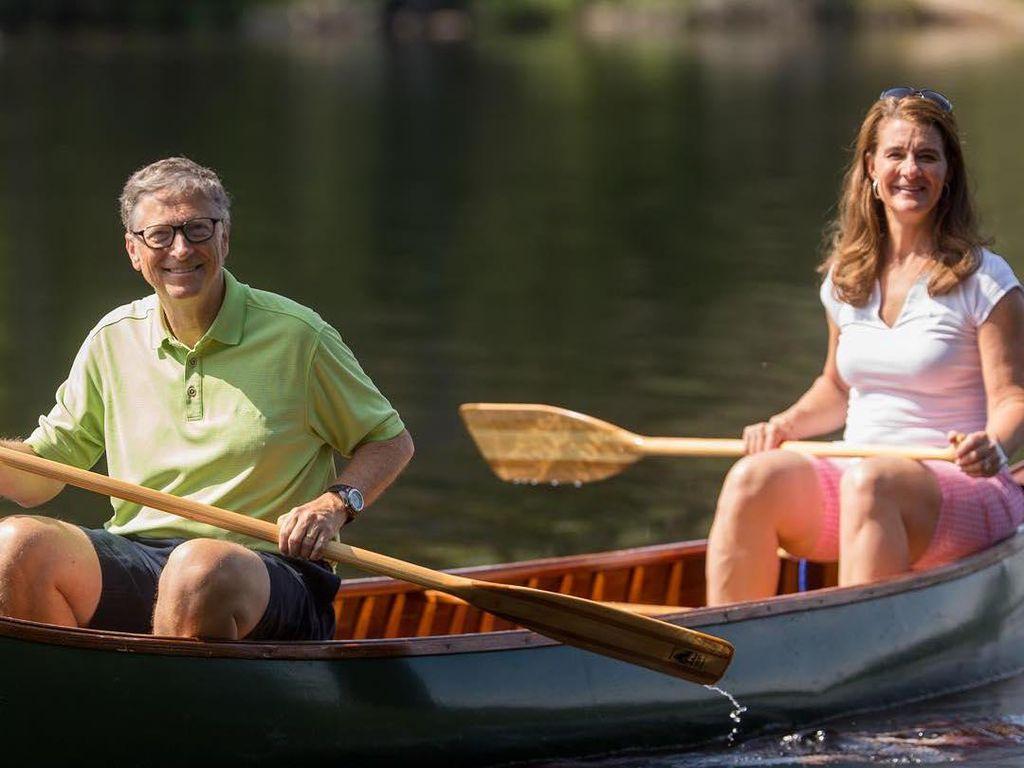 Ini Kesedihan Bill dan Melinda Gates Jadi Orang Terkaya