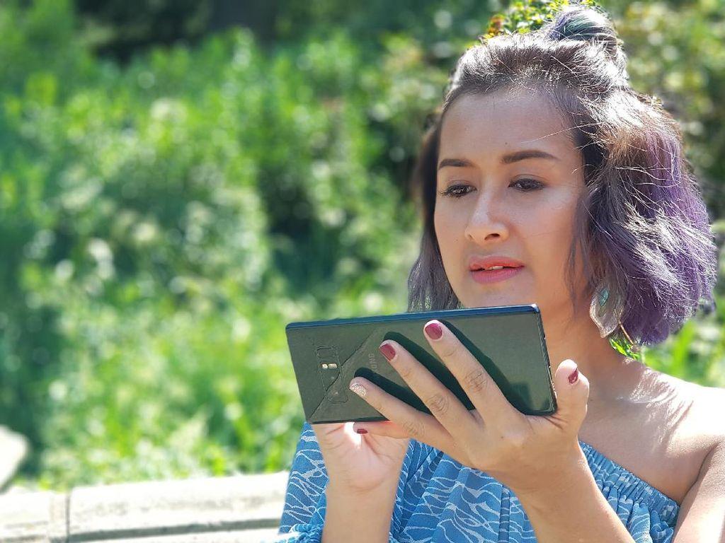 Menjajal Kamera Ganda Galaxy Note 8 di New York