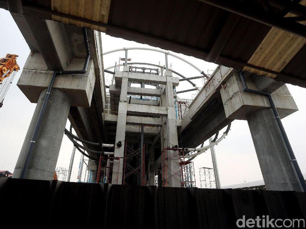 Foto: Wujud Stasiun Skytrain Bandara Soetta Yang Megah