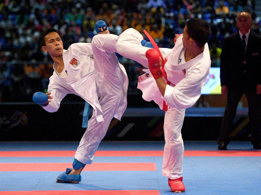 Bawa Pulang 13 Medali dari SEA Games 2017, Karate Tak Sepenuhnya Puas