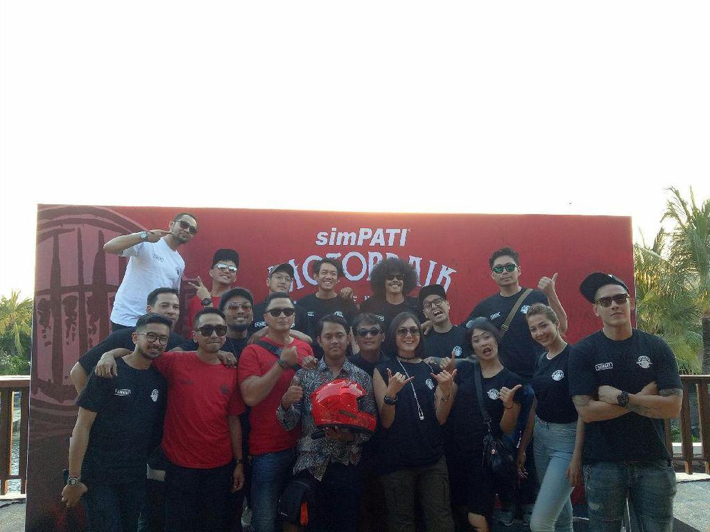 SimPATI Motorbaik 2017 Sukses Jalani Trip dari Yogyakarta ke Bali