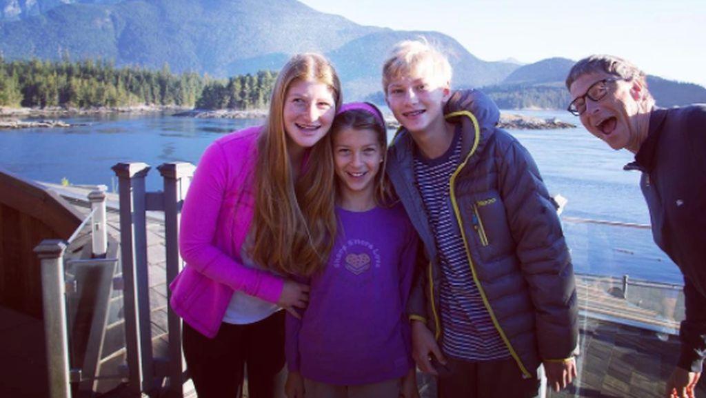 Tak Cuma Istri, Anak Bill Gates Juga Bikin Orang Introspeksi
