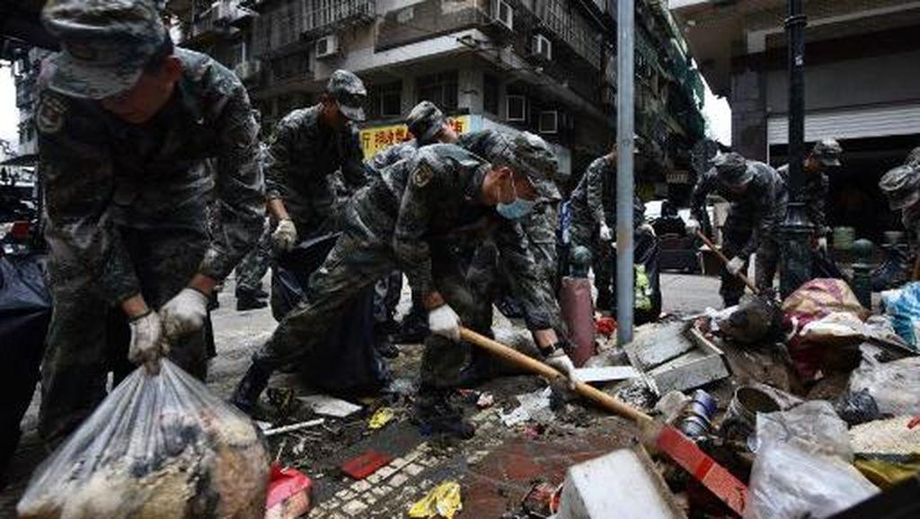 Begini Macau Pasca Diterpa Topan Mengerikan