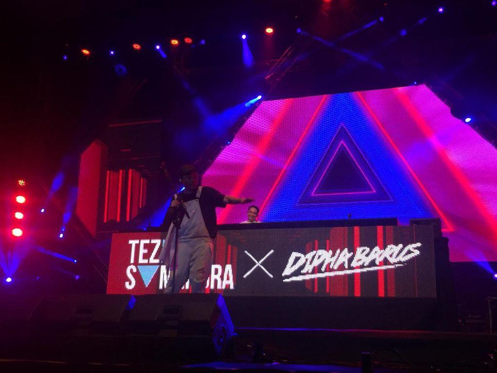 Teza Sumendra x Dipha Barus Bikin Pecah Sound of Tri