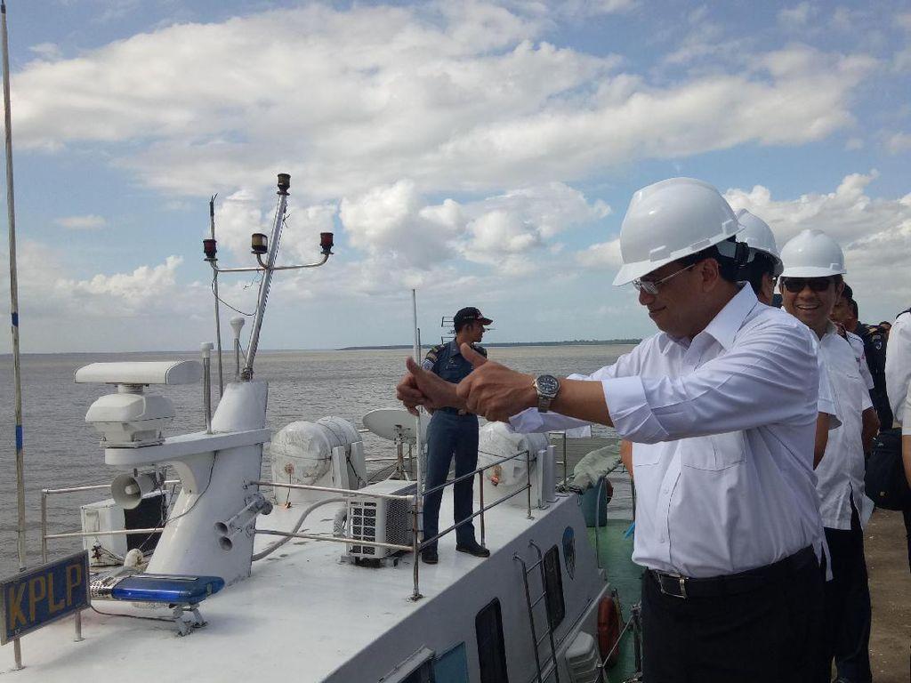 Menhub Pastikan Pelabuhan Tanjung Api-api Beroperasi Desember