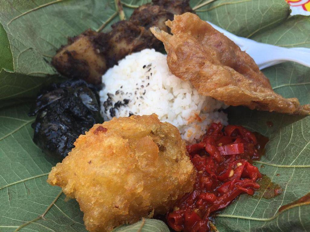 Yuk, Jajan Nasi Cikur dan Es Goyobod yang Enak di Festival Kuliner Serpong!